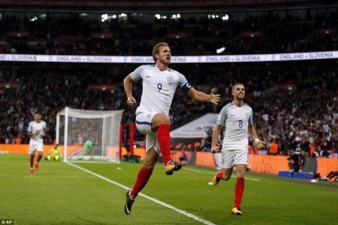 Siêu tiền đạo Harry Kane hóa người hùng ở phút bù giờ cuối cùng, ĐT Anh chính thức đoạt vé dự World Cup