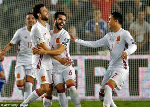 Chăm chỉ sút xa, đội hình B của Tây Ban Nha vất vả giành chiến thắng trước Israel
