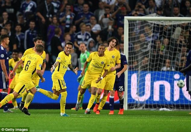 Tam tấu M-C-N thi nhau nổ súng, PSG vùi dập Anderlecht khẳng định sức mạnh vô đối tại bảng B
