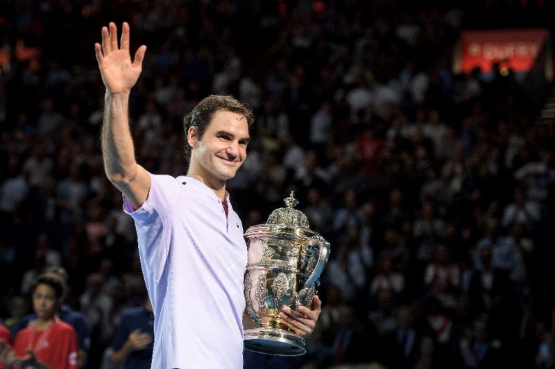 Ngược dòng đánh bại Del Potro, Roger Federer lần thứ 8 vô địch Basel Open