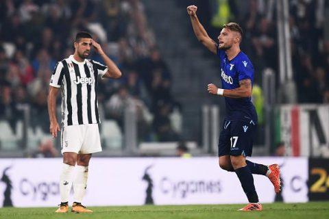 """Bất lực trước """"hung thần"""" Immobile, Juventus một lần nữa ôm hận trước Lazio ngay trên sân nhà"""