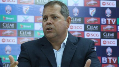 HLV Vitorino nói gì sau trận thua tan nát của Campuchia trước tuyển Việt Nam?