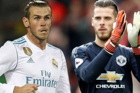 MU cẩn thận: Real ra giá Bale = De Gea + 30 triệu bảng