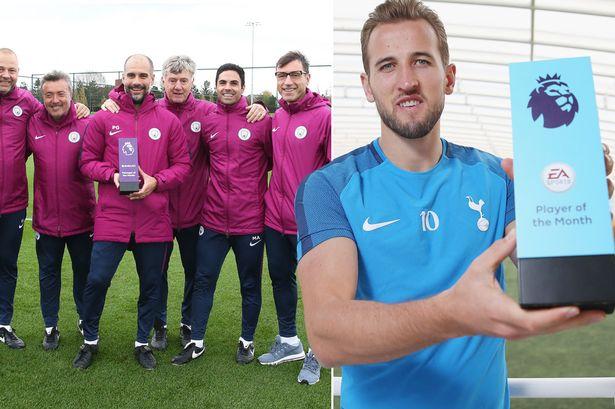Vượt mặt thầy trò Mourinho – Lukaku, Pep Guardiola và Harry Kane giật giải xuất sắc nhất tháng 9