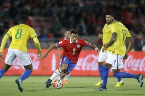 Brazil vs Chile, 06h30 ngày 11/10: Tấm vé trong tầm tay