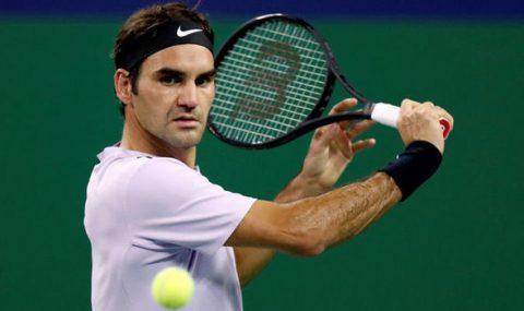 Diệt gọn Gasquet, Roger Federer đụng độ Del Potro ở bán kết Thượng Hải Master