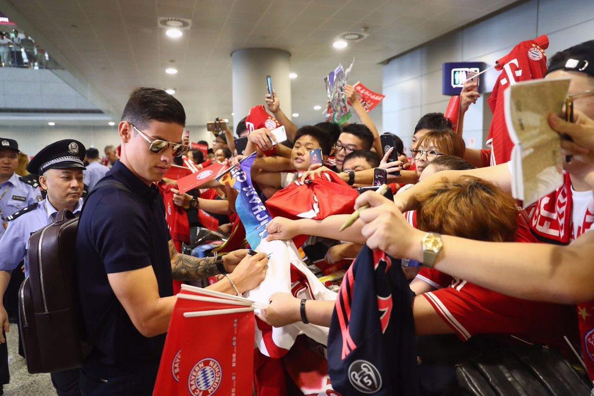 Không còn chỗ đứng tại Bayern, James Rodriguez chuyển sang Trung Quốc thi đấu khiến fan xót xa
