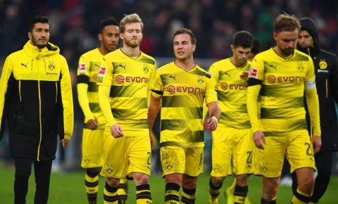 CHÙM ẢNH: Thua tan nát, Dortmund mất ngôi đầu Bundesliga chìm sâu vào khủng hoảng