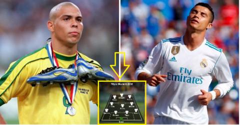 """Đội hình 11 ngôi sao xuất sắc nhất mọi thời đại do """"Vua bóng đá"""" Pele lựa chọn: Có Messi, 2 Ronaldo không có chỗ"""