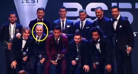 TOP 10 siêu tiền vệ xứng đáng thay thế vị trí của Iniesta ở đội hình tiêu biểu FIFA 2017