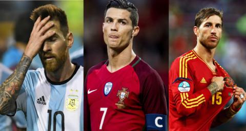 World Cup 2018 sẽ là lần cuối chúng ta được thấy Ronaldo, Messi và những siêu sao này góp mặt