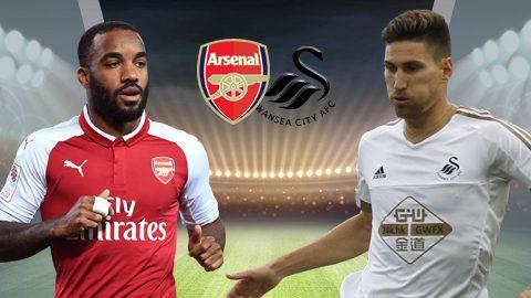 Arsenal vs Swansea, 21h00 ngày 28/10: Bắn hạ Thiên nga