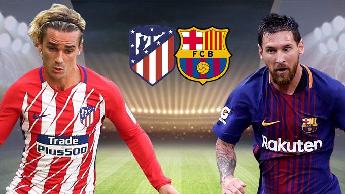 """Atletico Madrid vs Barcelona, 01h45 ngày 15/10: Bản lĩnh """"Gã khổng lồ"""""""