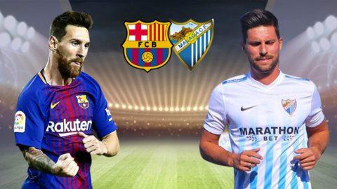 Barcelona vs Malaga, 01h45 ngày 22/10: Vững vàng trên ngôi đầu