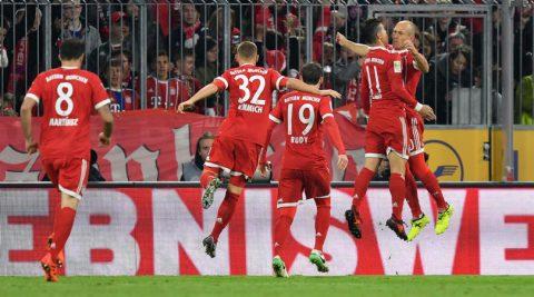 James Rodriguez tỏa sáng rực rỡ sau chuỗi ngày bị ruồng rẫy, Bayern hạ gục kẻ khó chịu Leipzig, chiếm luôn ngôi đầu từ Dortmund