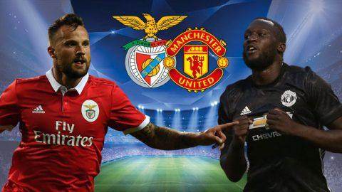Benfica vs Man United, 01h45 ngày 19/10: Bay trên vùng ánh sáng