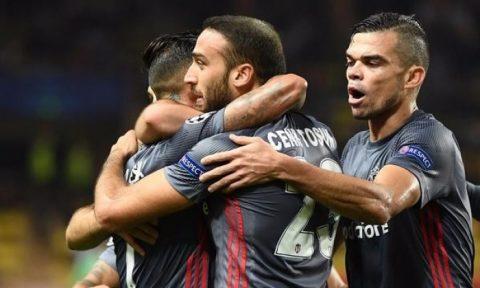 Falcao nổ súng, Monaco vẫn thua đau Besiktas trên sân nhà; Leipzig thắng thuyết phục đội bóng của Iker Casillas