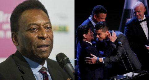 Chứng kiến chiến thắng vang dội của Ronaldo tại lễ trao giải The Best, Pele và các huyền thoại nói gì?