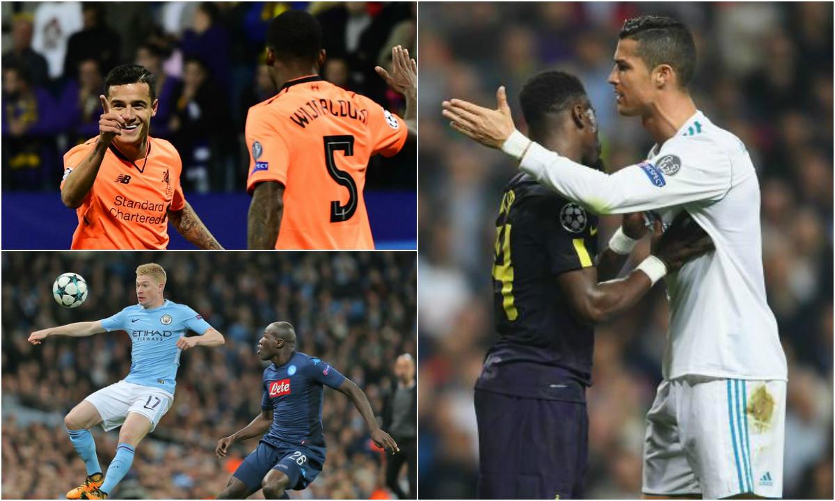 Điểm mặt 5 nhân tố HOT nhất lượt trận C1 đêm qua: Tuyệt vời Coutinho, De Bruyne; Ronaldo lại gây nên tai tiếng