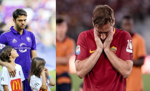 Những siêu sao bóng đá giải nghệ trong năm 2017 khiến fan bóng đá không khỏi tiếc nuối