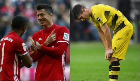 Sau vòng 9 Bundesliga: Bayern phả hơi nóng vào Dortmund