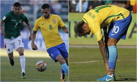 Neymar liên tục khuấy đảo, Brazil vẫn phải chia điểm trước Bolivia
