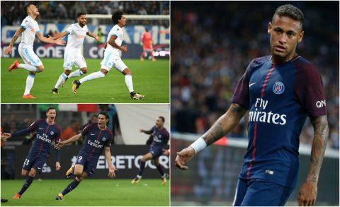 """Neymar từ người hùng hóa tội đồ, Cavani cứu rỗi PSG ở những giây cuối cùng trong trận """"siêu kinh điển"""" nước Pháp"""
