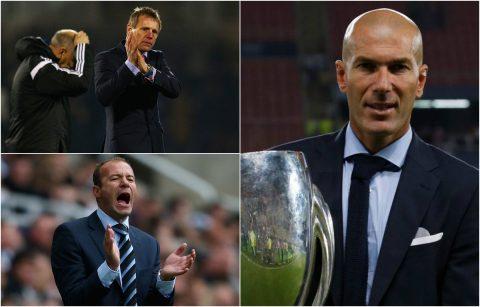 """Điểm mặt những huyền thoại """"lận đận"""" trong nghiệp huấn luyện: Không phải cũng được như Zidane"""