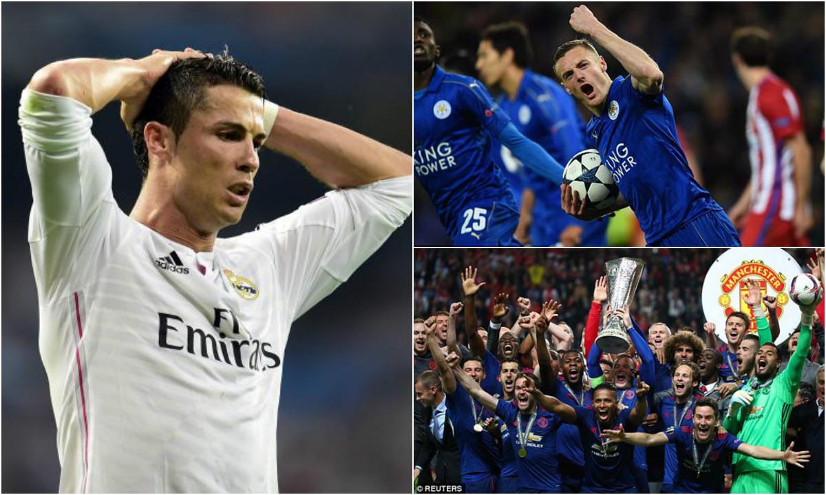 KHÓ TIN: Real phá lời nguyền C1 doanh thu vẫn thua Leicester, M.U lại vớ bẫm dù đá Europa League