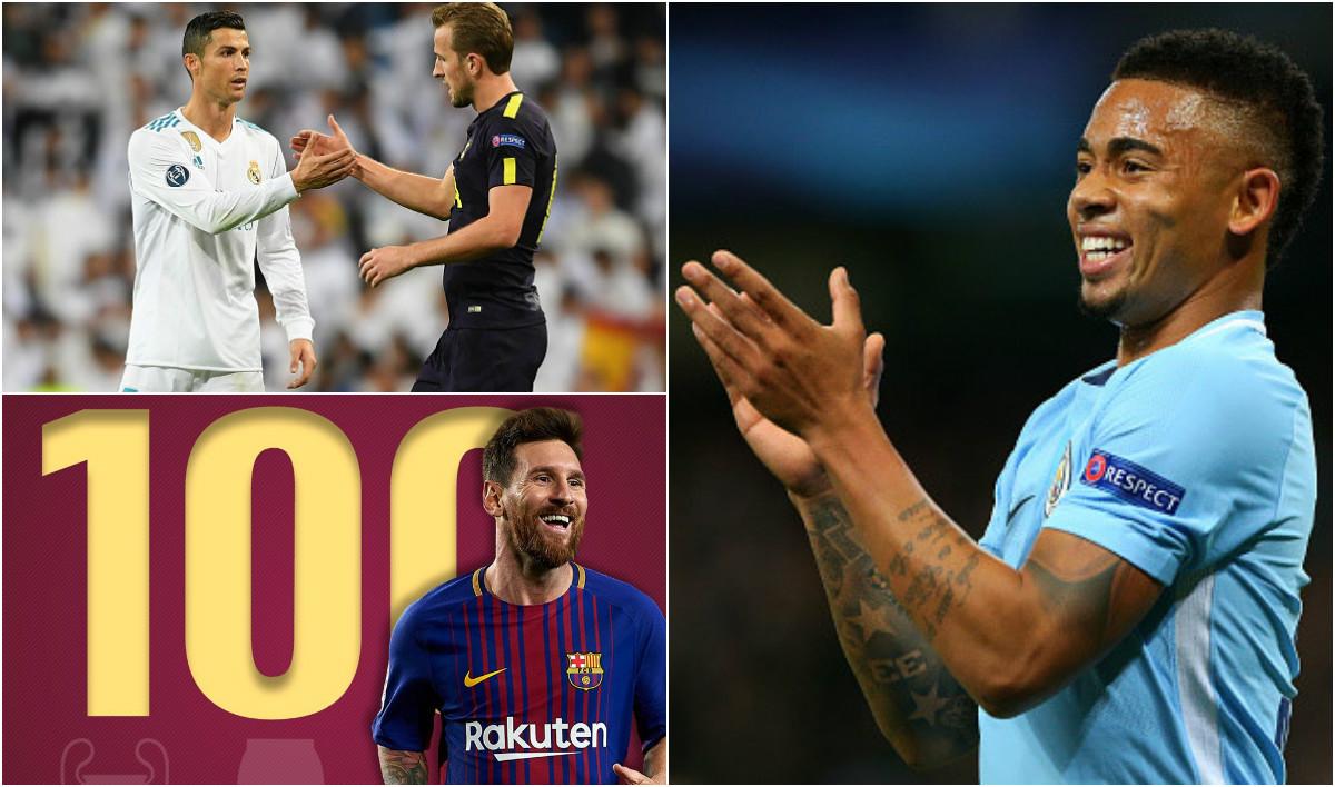 """Những thống kê ấn tượng ở loạt trận Champions League vừa qua: Cả 2 siêu nhân đều xác lập kỷ lục; Sao trẻ Man City đạt con số """"cực khủng"""""""