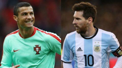 TOP 5 cầu thủ ấn tượng nhất VL World Cup 2018: Cuộc đối đầu quen thuộc Ronaldo – Messi