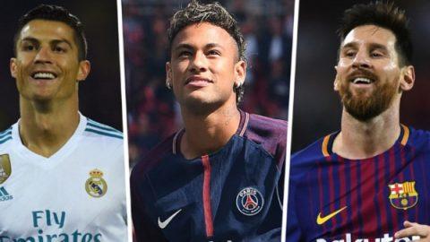 """Neymar sẽ được PSG thưởng """"cực khủng"""" nếu vượt mặt Messi, Ronaldo"""