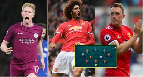 Đội hình tiêu biểu vòng 7 Ngoại hạng Anh: Tôn vinh kẻ hạ sát Chelsea; M.U bá đạo với 4 cái tên