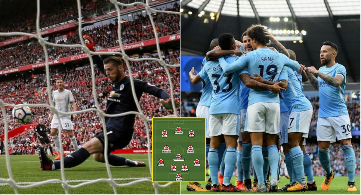 """Đội hình tiêu biểu vòng 8 Ngoại hạng Anh: Tôn vinh """"thánh"""" De Gea và """"binh đoàn bất khả chiến bại"""" Man City"""