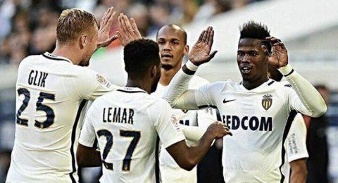 Tân binh tỏa sáng, Monaco nhẹ nhàng đánh bại Bordeaux để tiếp tục bám đuổi PSG