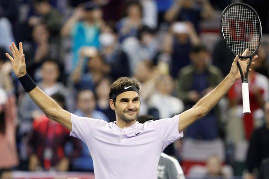 """Phục thù Del Potro thành công, Federer đối đầu Nadal trong trận """"chung kết trong mơ"""" tại Thượng Hải Master"""
