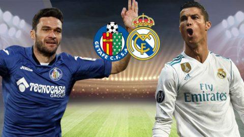 Getafe vs Real Madrid, 21h15 ngày 14/10: Chờ CR7 khai nòng