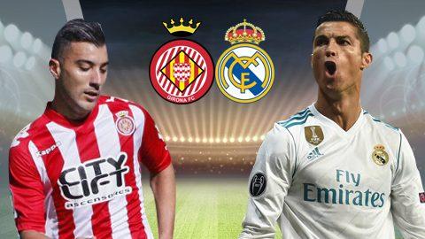 Girona vs Real Madrid, 22h15 ngày 29/10: Ra oai trước tân binh