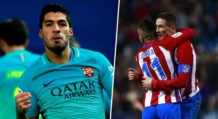 Trong ngày Messi bị bắt chết, Suarez hóa người hùng đem về 1 điểm may mắn cho Barca