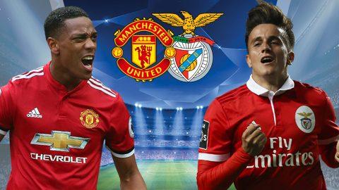 Man Utd vs Benfica, 02h45 ngày 01/11: Thẳng tiến tới vòng knock-out