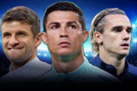 Xác định 9 đại diện châu Âu góp mặt tại World Cup 2018