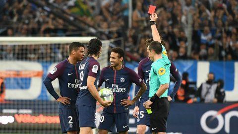 CHÙM ẢNH: Từ người hùng hóa tội đồ với tấm thẻ đỏ ngây thơ, Neymar chút nữa khiến PSG phơi xác tại Velodrome