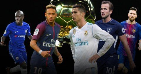 Danh sách đề cử Quả bóng vàng 2017: Real Madrid thống trị, Man Utd có một cái tên