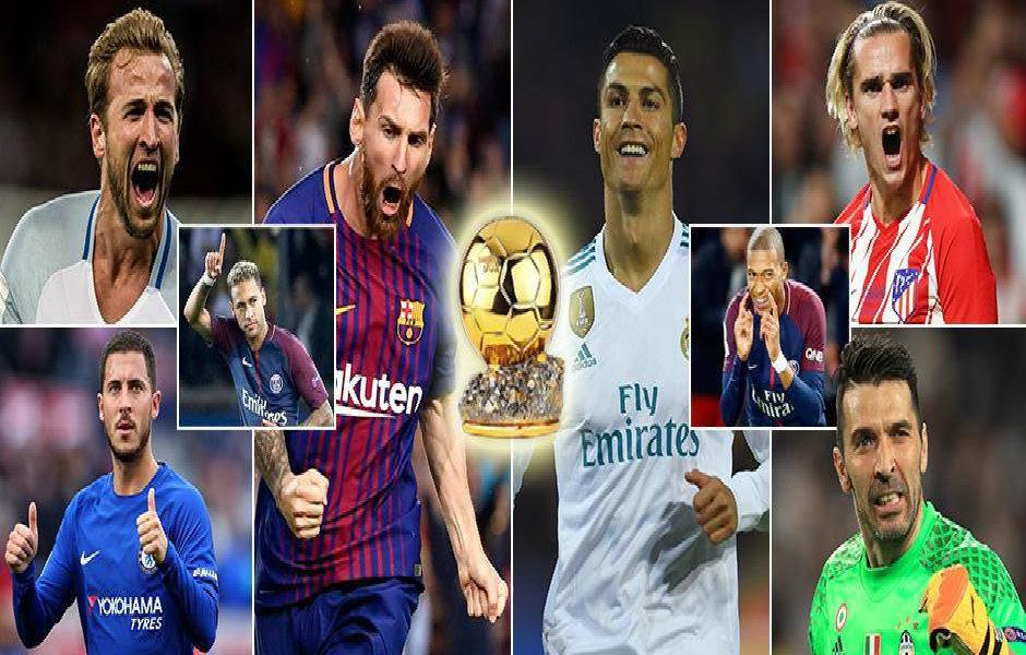 Điểm mặt những ƯCV sáng giá cho danh hiệu Quả bóng vàng 2017: Ai có thể cản nổi Ronaldo?