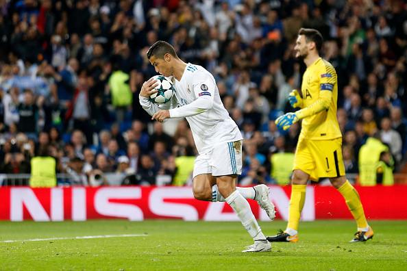 Phá lưới Tottenham trên chấm phạt đền, Ronaldo tiếp tục thiết lập nên 5 kỷ lục siêu khủng