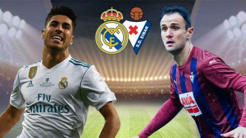 Real Madrid vs Eibar, 01h45 ngày 23/10: Tiếp đà chiến thắng
