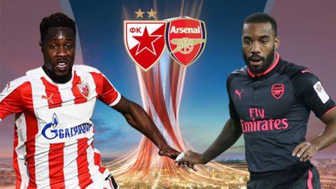 Crvena Zvezda vs Arsenal, 00h00 ngày 20/10: Ngôi đầu đổi chủ