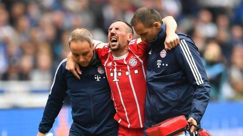 SỐC: Franck Ribery dính chấn thương cực nặng, có thể phải giải nghệ