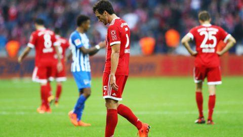 Thua liền 2 bàn trong 5 phút, Bayern trả giá đắt trên sân Hertha Berlin