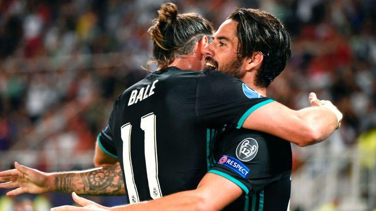 Isco đang dần làm lu mờ hình ảnh của Gareth Bale
